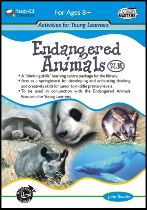 Endangered Animals Activity Book - Ready-Ed Publications