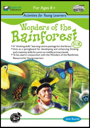 Wonders of the Rainforest Activity Book (BLM)
