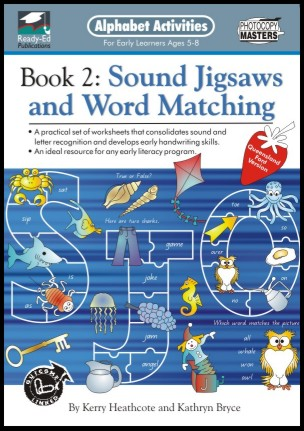 Alphabet Activities 2: Sound Jigsaw and word matching
