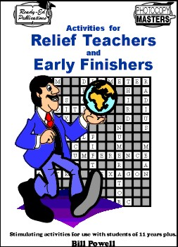 Activities for Relief Teachers and Early Finishers