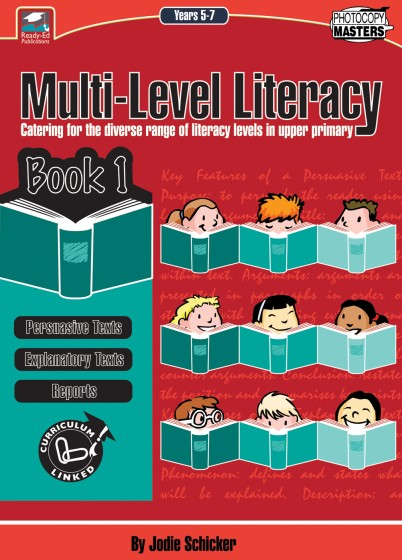 Multi-Level Literacy Book 1