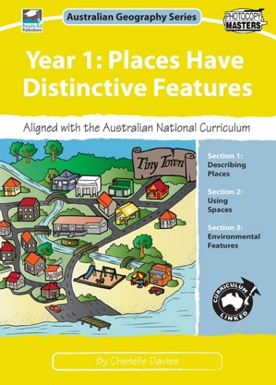 Australian Geography Series Year 1 - Places have distinctive Features book cover