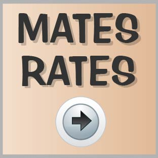 Click here to sign up to our Mates Rates programme and hear about our great discounts and offers