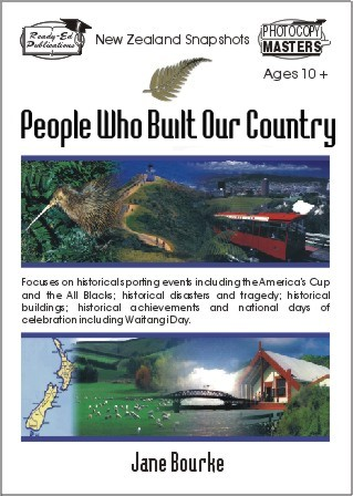 NZ Snapshots Book 3: People Who Built Our Country
