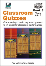 Classroom Quizzes 3 for NZ Schools