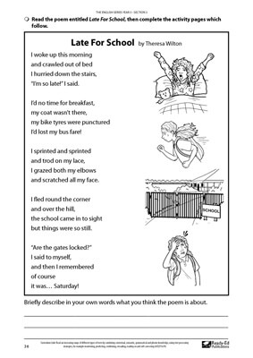 grade 2 english test pdf
