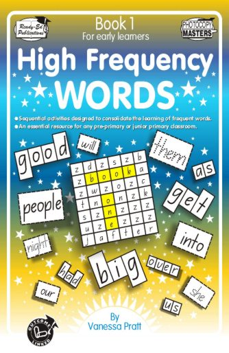 High Frequency Words Book 1