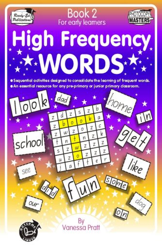 High Frequency Words Book 2