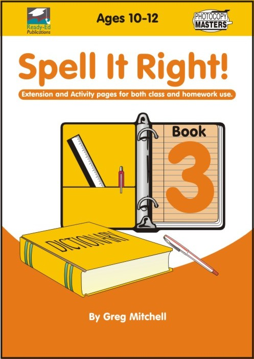 Spell It Right! Book 3