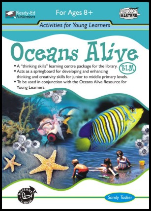 Oceans Alive Activity Book (BLM)