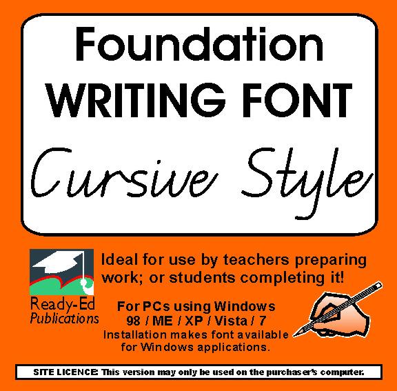 Foundation Cursive Font Download