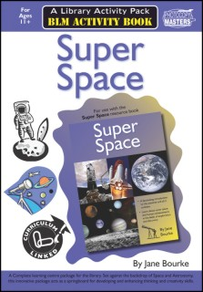 Super Space Activity Book BLM