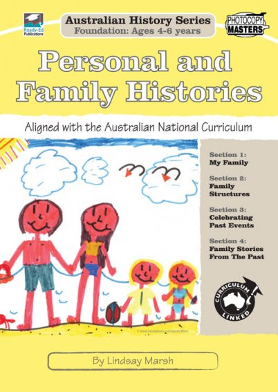 Australian Family Histories Foundation: Personal and Family Histories Cover
