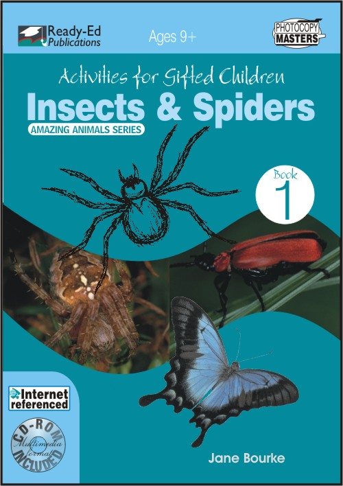 Activities for Gifted Children Book 1: Insects and Spiders