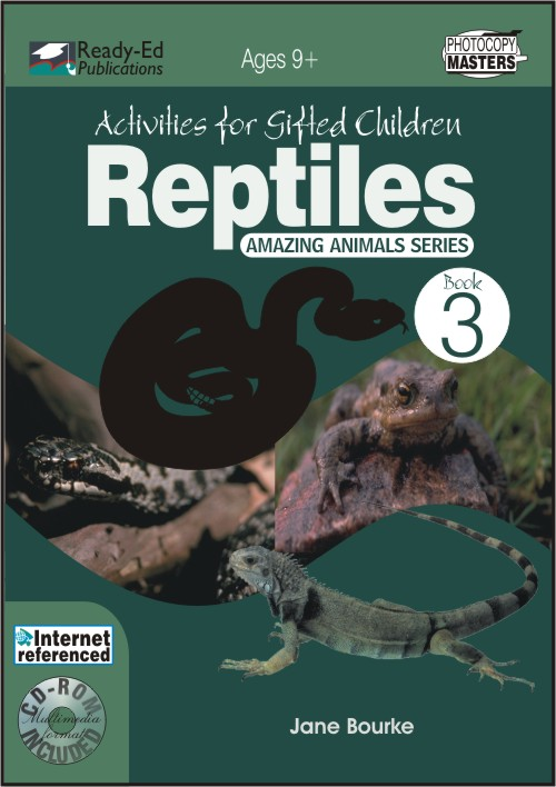 Activities for Gifted Children Book 3: Reptiles and Amphibians