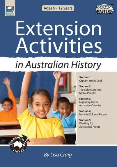 Extension Activities in Australian History
