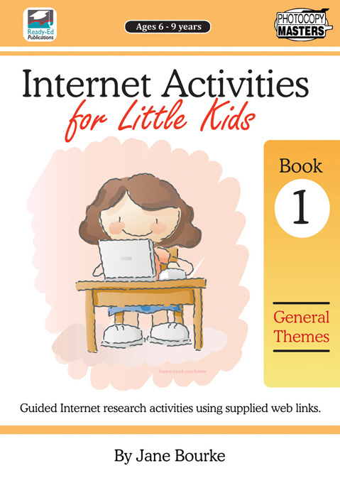 Internet Activities for Little Kids Book 1