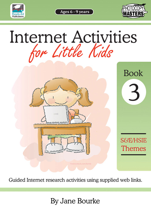 Internet Activities for Little Kids Book 3
