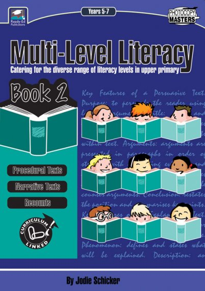 Multi-Level Literacy Book 2