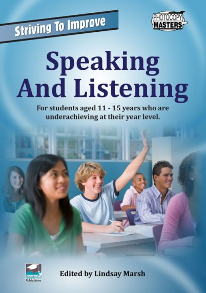 Striving to Improve - Speaking and Listening