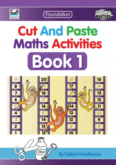 Cut and Paste Maths Activities Book 1