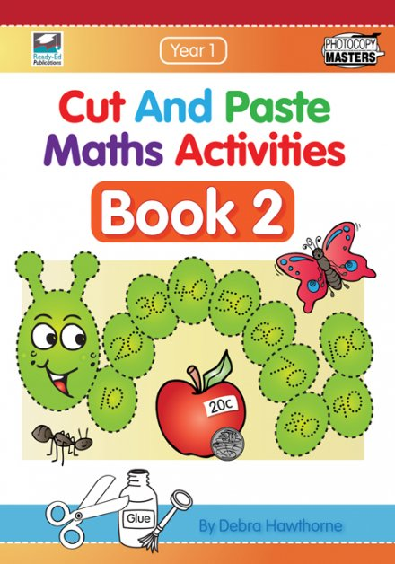 Cut and Paste Maths Activities Book 2
