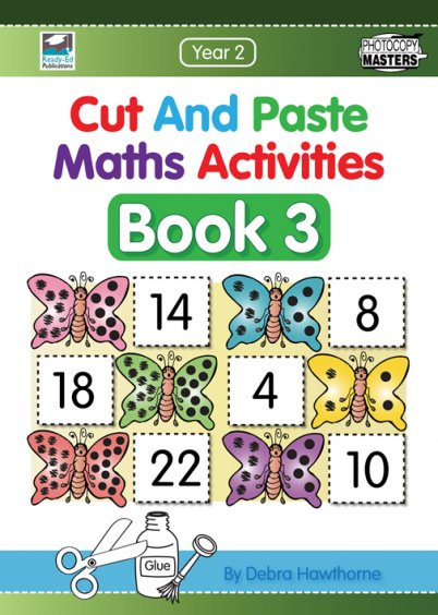 Cut and Paste Maths Activities Book 3