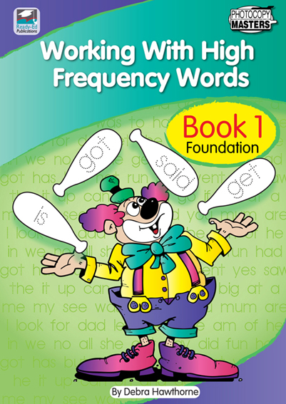 Working With High Frequency Words Book 1