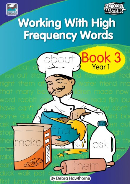 Working With High Frequency Words Book 3