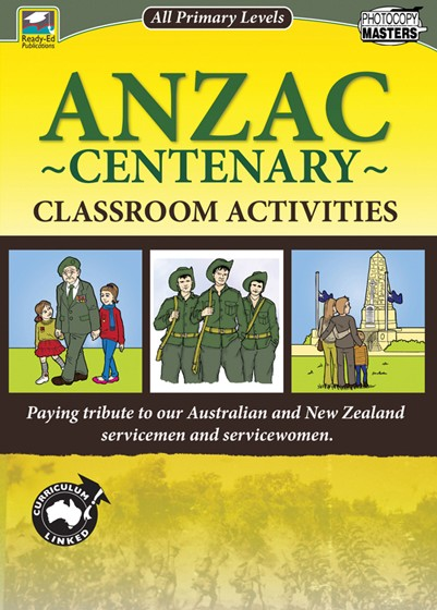 Anzac Centenary Classroom Activities