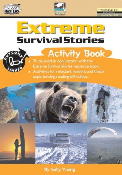 Extreme Survival Stories Activity Book (BLM)