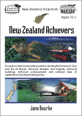 New Zealand Snapshots Book 2: New Zealand Achievers