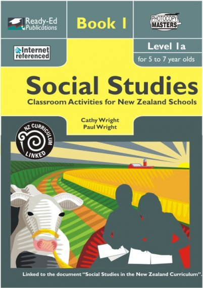 Social Studies for New Zealand Schools: Book 1