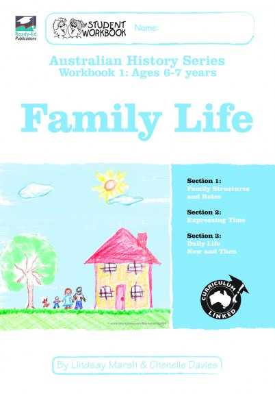 Australian History Series Workbook 1: Family Life