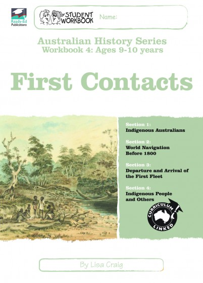 Australian History Series Workbook 4: First Contacts