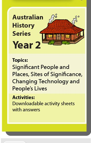 Online Classroom: Australian History Series Year 2
