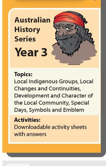 Online Classroom: Australian History Series Year 3