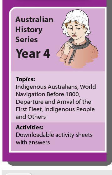 Online Classroom: Australian History Series Year 4