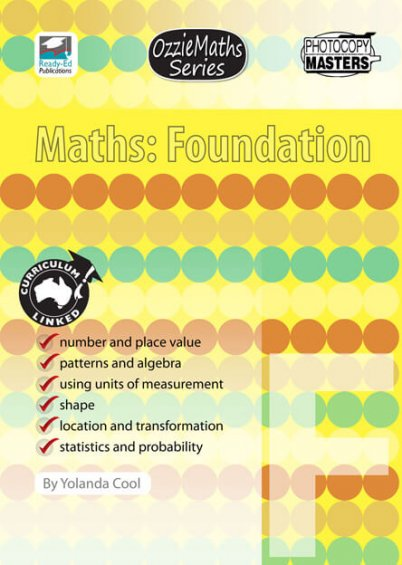 OzzieMaths Series - Maths: Foundation
