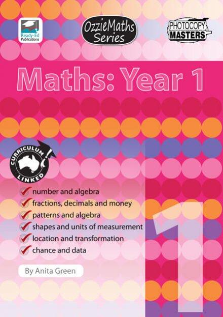 OzzieMaths Series - Maths: Year 1