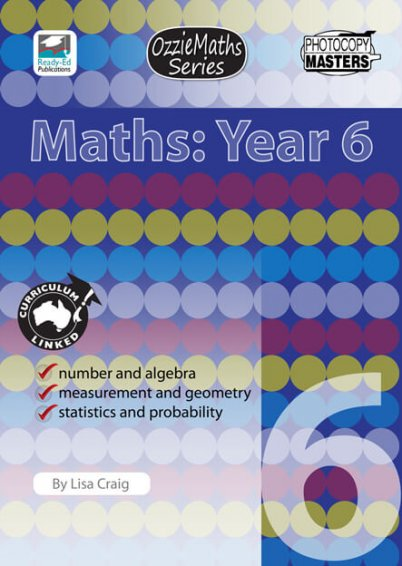 OzzieMaths Series - Maths: Year 6