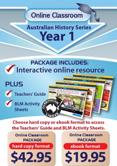 Online Classroom Australian History Series: Year 1