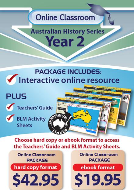 Online Classroom Australian History Series Year 2