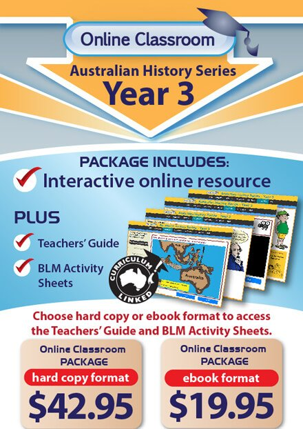 Online Classroom: Australian History Series - Year 3