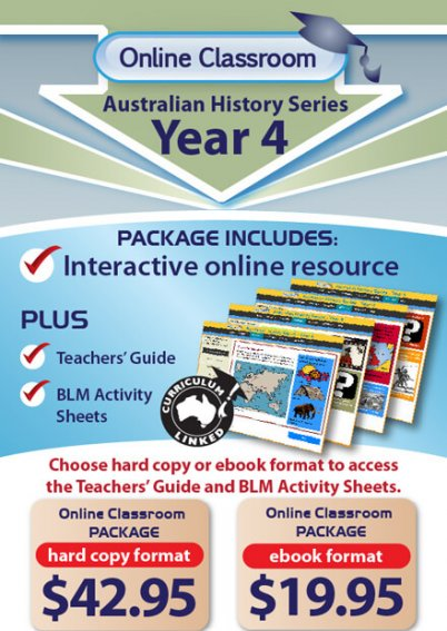 Online Classroom: Australian History Series - Year 4