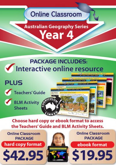 Online Classroom: Australian Geography Series - Year 4