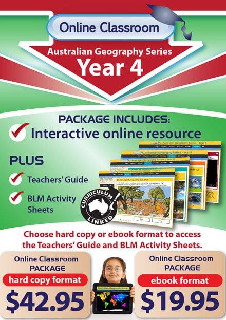 Online Classroom: Australian Geography Series - Year 4