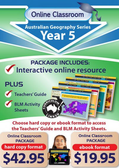 Online Classroom: Australian Geography Series - Year 5