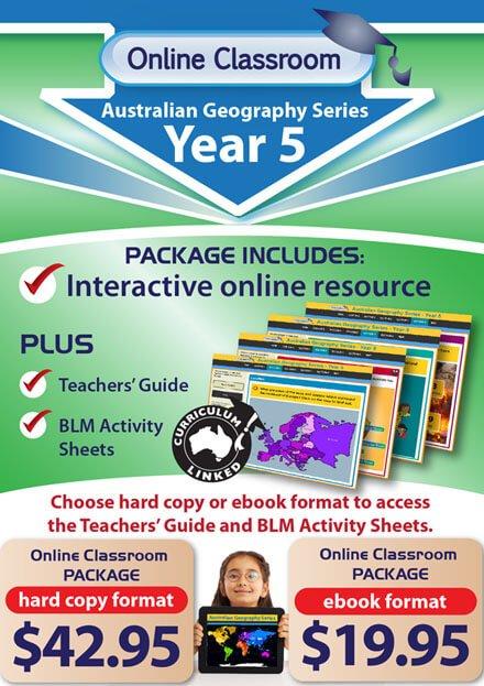 Online Classroom: Australian Geography Series - Year 5