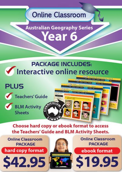 Online Classroom: Australian Geography Series - Year 6